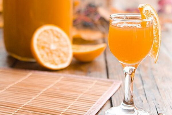 Апельсиновый ликер с мятой