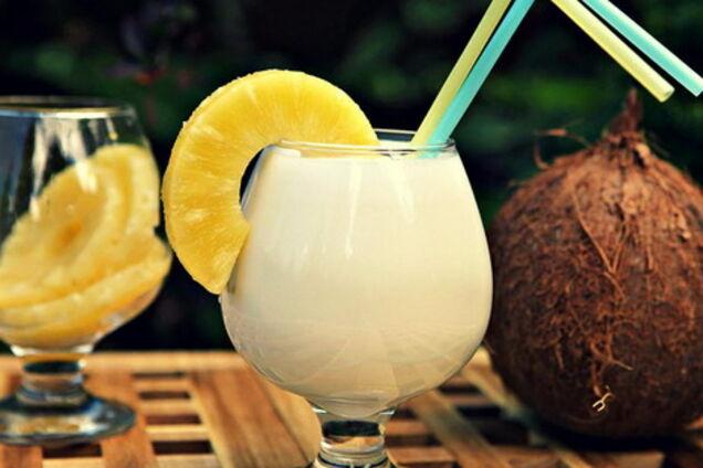 Коктейль с ромом и кокосовым ликером