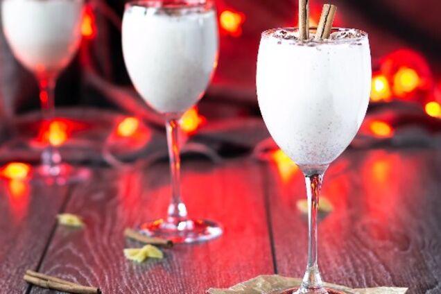 Яєчно-молочний коктейль