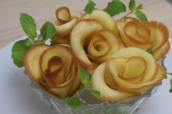 Розы на белках