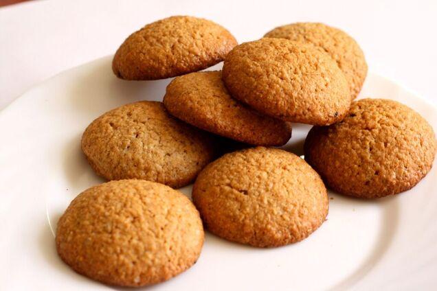 Дієтичне печиво без борошна