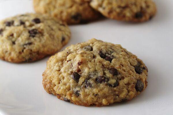 Вівсяне печиво із шоколадом