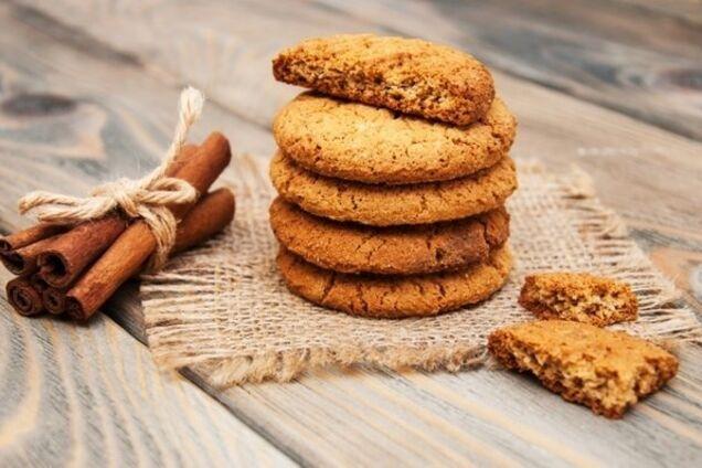 Простое печенье с корицей