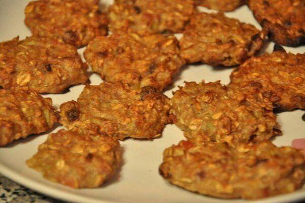 Вівсяне печиво з фруктами
