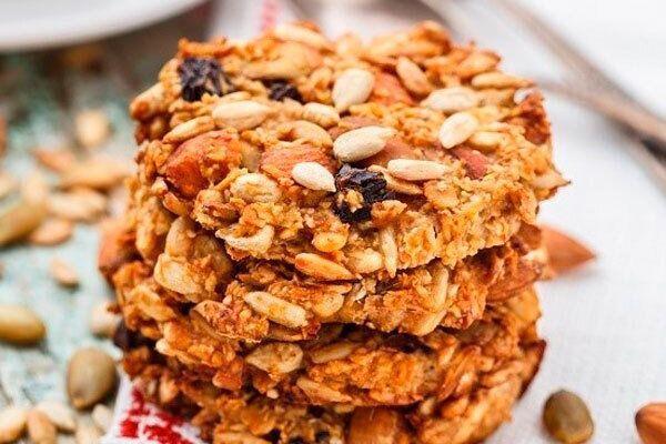 Вівсяне печиво з сухофруктами