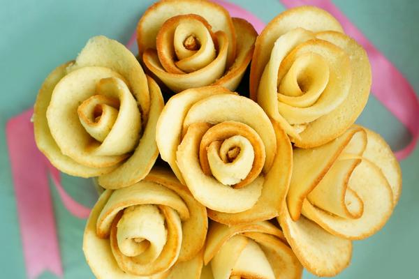 Ванільні троянди з маслом