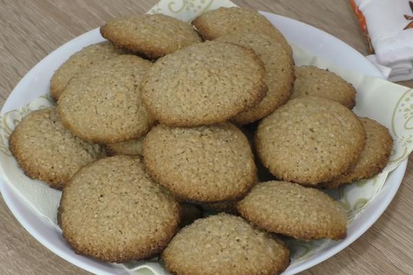 Розсипчасте вівсяне печиво