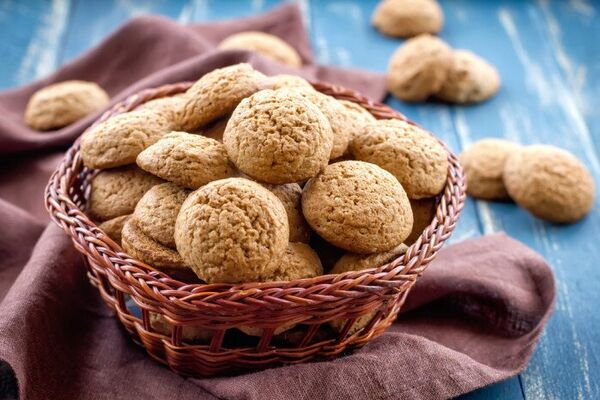 Просте вівсяне печиво