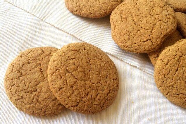 Овсяное печенье с патокой