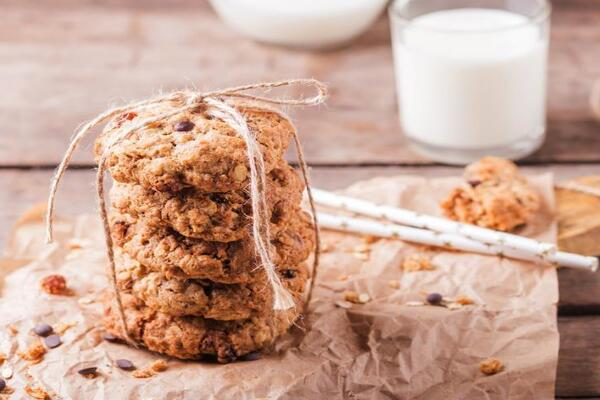 Вівсяне печиво з кокосовою стружкою