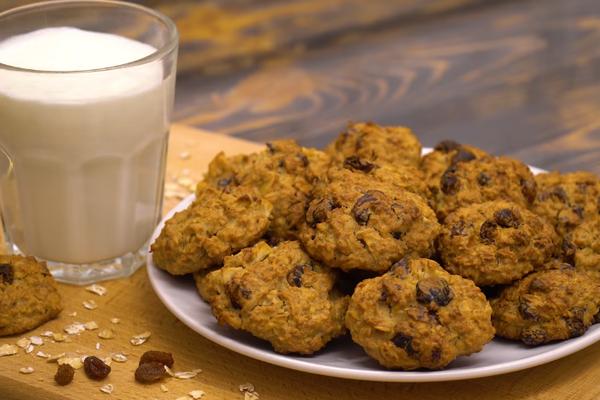 Вівсяне печиво без цукру
