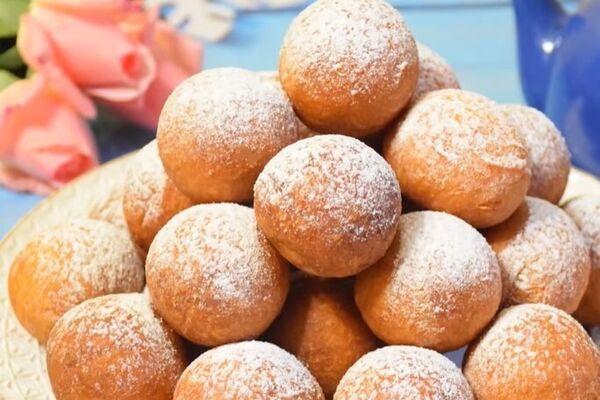 Ванільні пончики з сиром