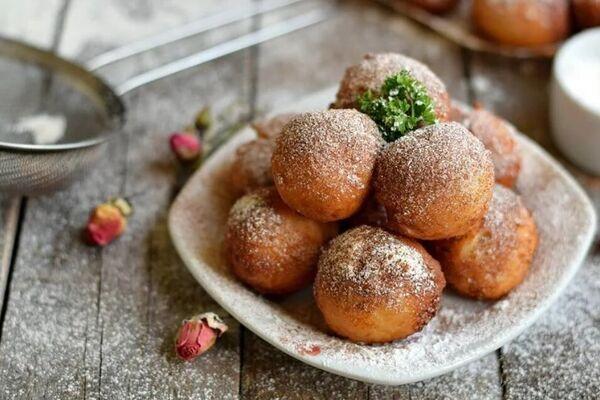 Творожные пончики без дрожжей