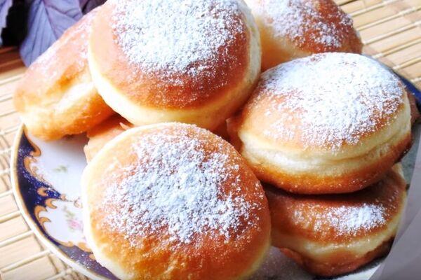 Домашні пончики на дріжджах