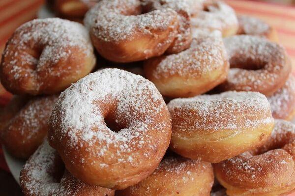 Простые пончики