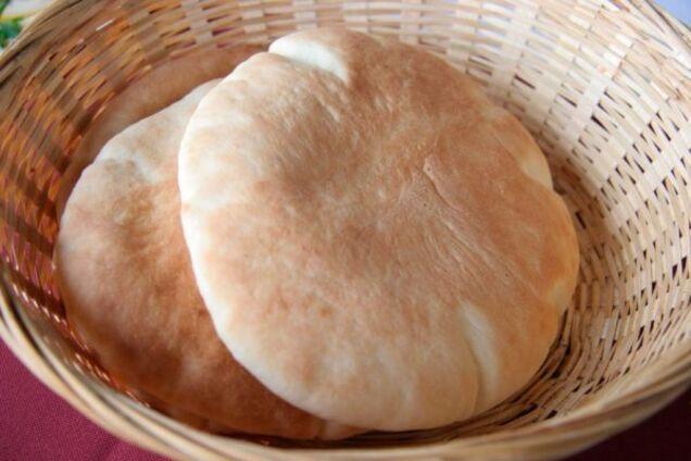 Воздушная арабская пита