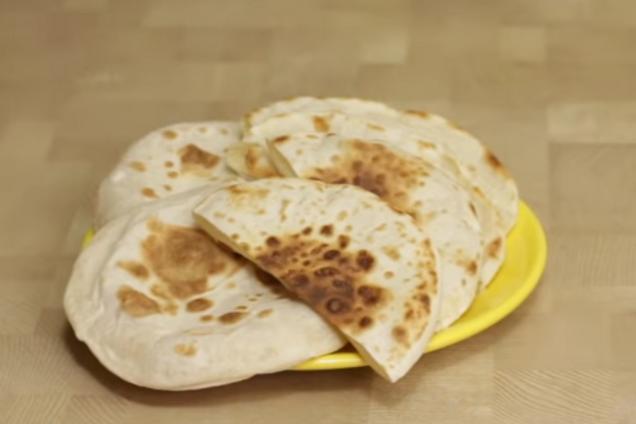 Быстрая арабская пита