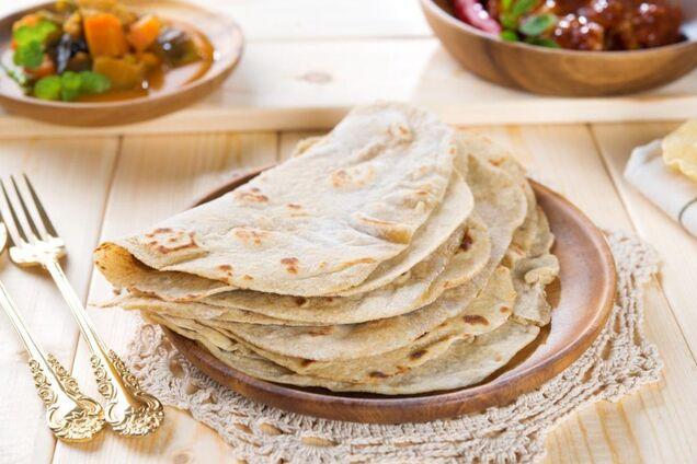Индийские лепешки ''чапати''