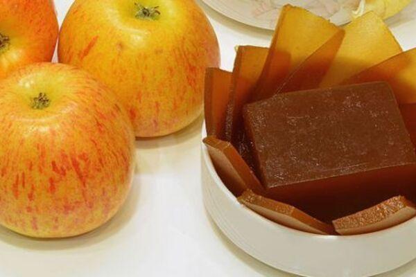 Яблучний мармелад без цукру