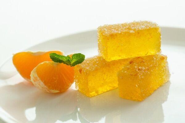 Апельсиновий мармелад на агар-агарі