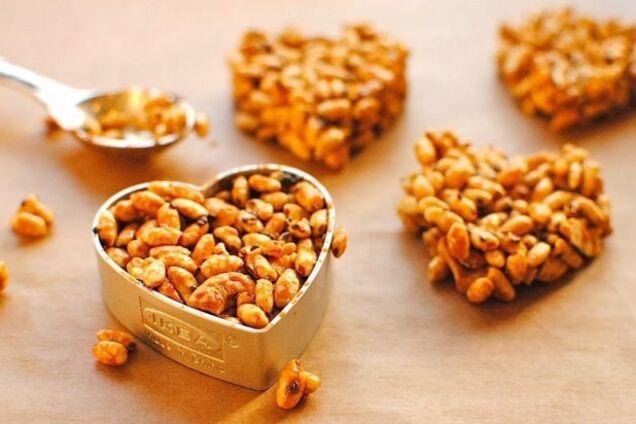 Козинаки из арахиса за 10 минут
