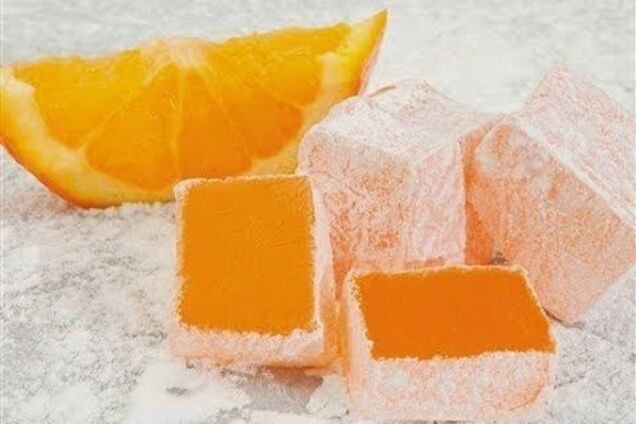 Апельсиновый рахат-лукум