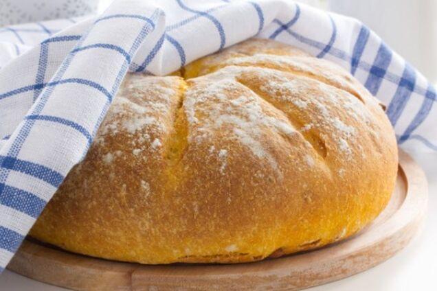 Білий хліб в духовці