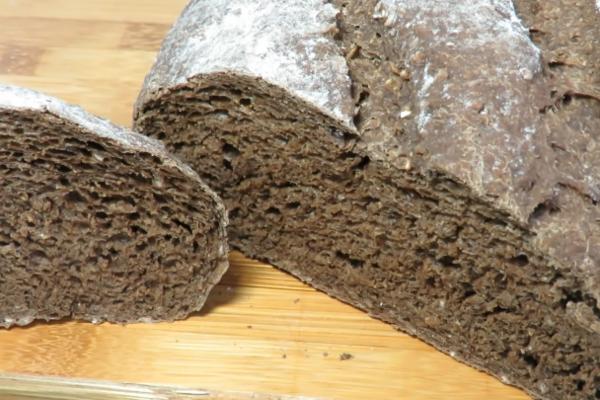 Домашній житній хліб