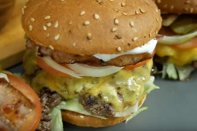 Гамбургер за 10 минут
