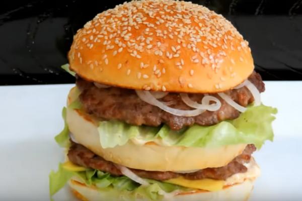Подвійний гамбургер