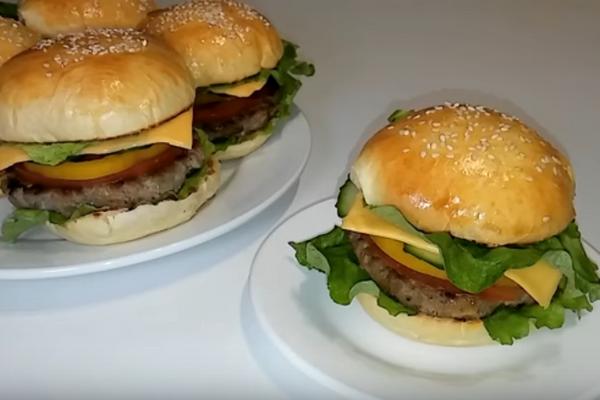 Гамбургер по-домашньому