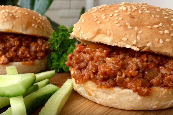 Гамбургер ''Нечупара Джо''