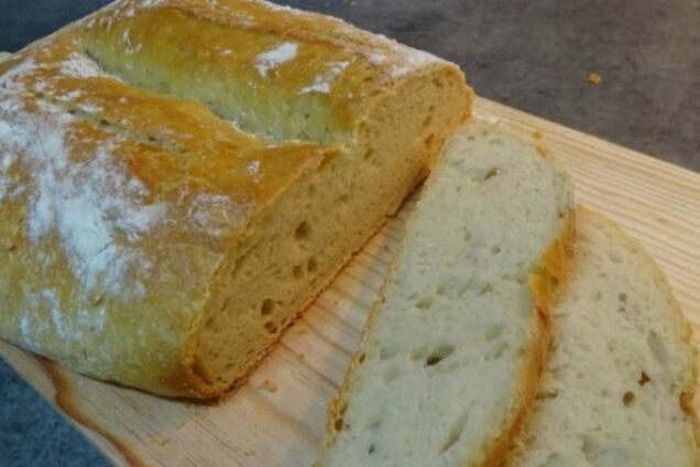Хрустящий домашний хлеб