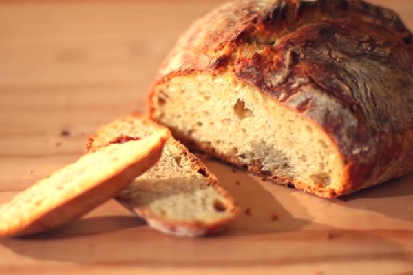 Домашній хліб без замісу