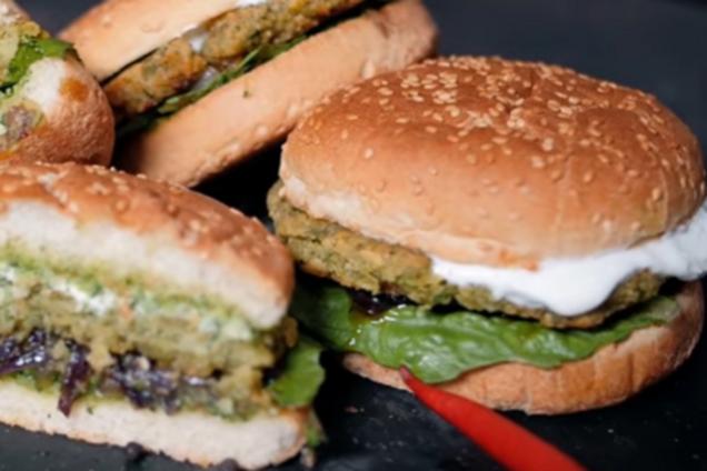 Вегетаріанський гамбургер