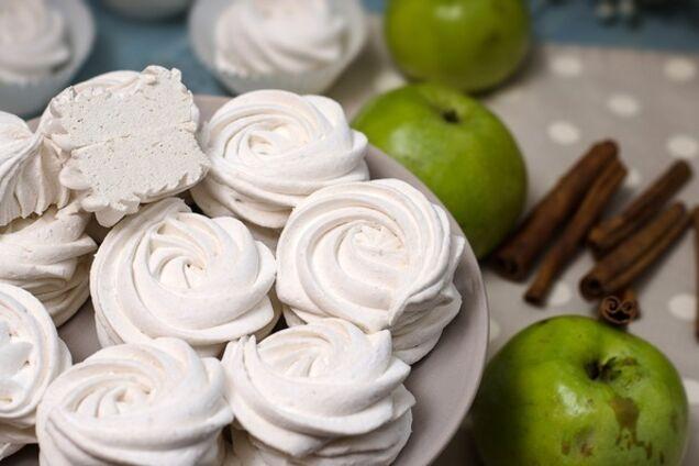 Мягкий яблочный зефир