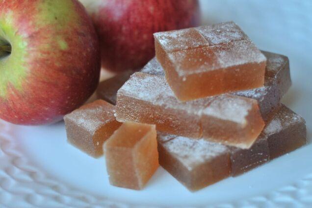 Яблочный мармелад в духовке