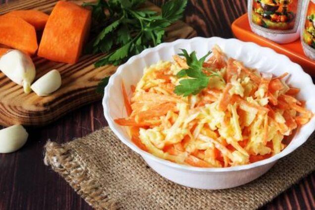 Салат з дайконом і сиром