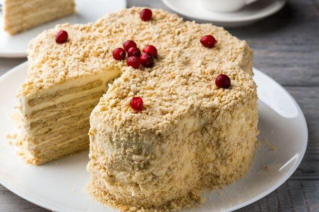Торт из печенья ''Мария''