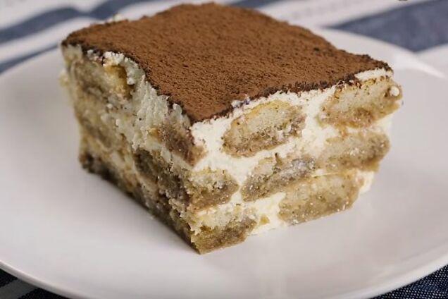 Торт ''Тирамису'' из печенья