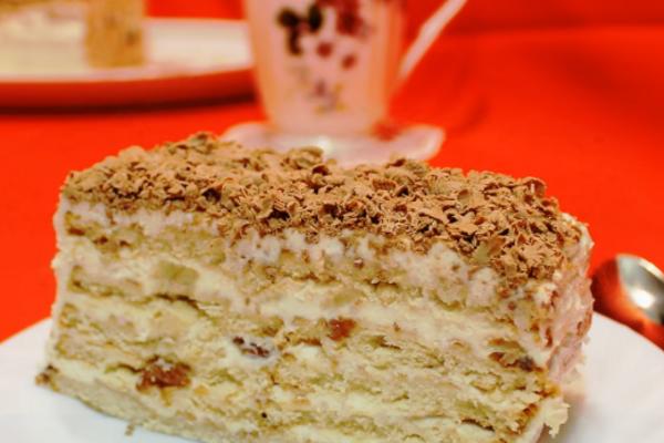 Торт із печива та сиру