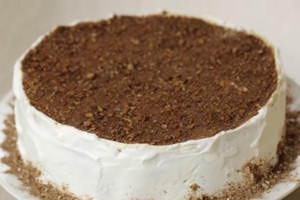 Торт без випічки з пряників