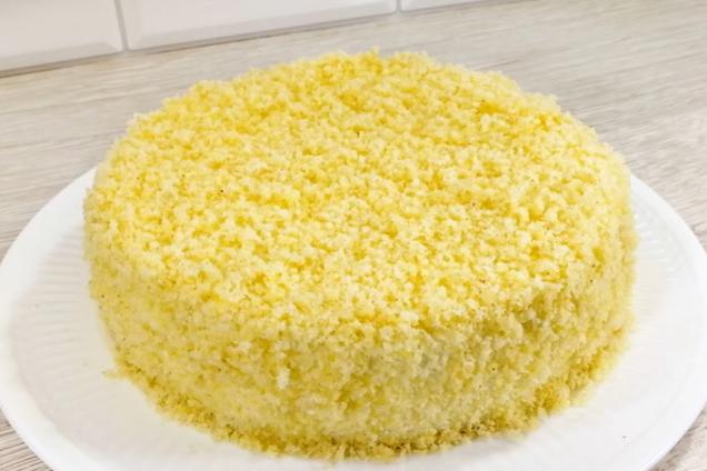 Торт ''Мімоза''