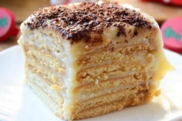 Торт із вівсяного печива