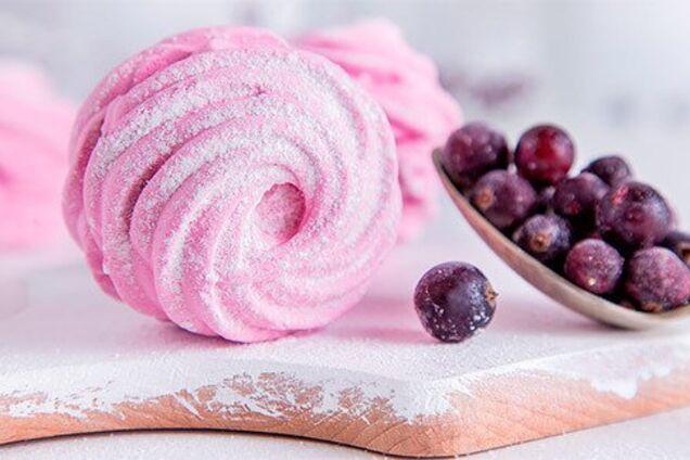 Зефир из замороженных ягод