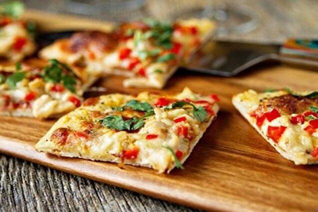 Швидка піца без тіста