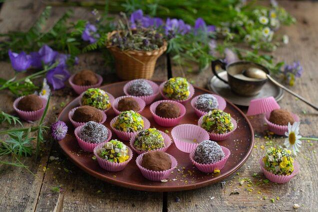 Прості шоколадні цукерки