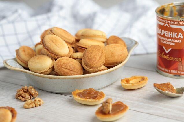 Орешки с майонезом