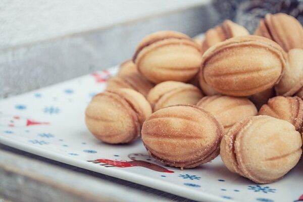 Орешки на сливочном масле