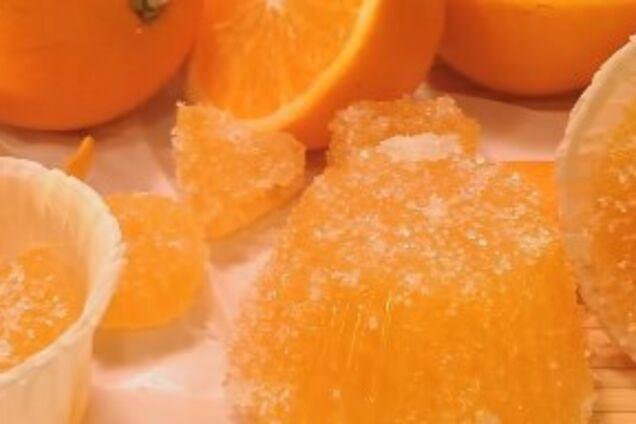 Мармелад із апельсинового соку
